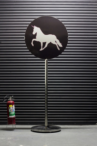 "REFLECTIVE ""STREET SIGN"" - UNICORN"