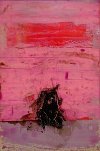 Pink Rothko Monkey