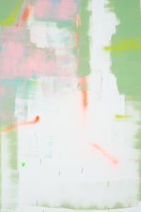 Pintura sem título (Spray Neon)