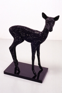 Untitled (Black Baby Buck)