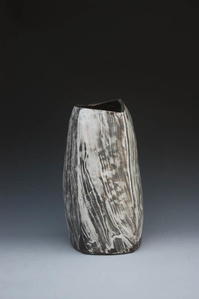 Puncheong Jar with Ash Glaze 6