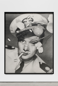 Marlene Dietrich (with cracked egg and Zoloft)