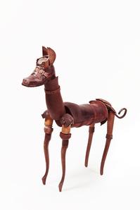 Perro bronce