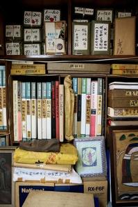 Detail from the studio of Ha Bik Chuen