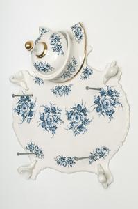 Depouille aux Fleurs - Bleu de Delft