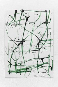 Green Series Drawings/Basel #2