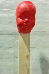 RED BABY MATCHSTICK