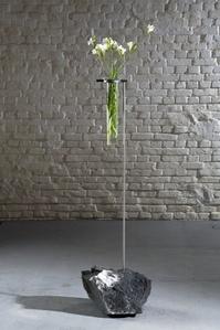 Vase aux cristaux