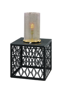 Cubo AM/FM and Capsule Lamp