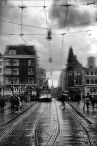 Chuva nas ruas de Amsterdг