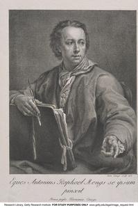 Eques Antonius Raphael Mengs se ipsum pinxit