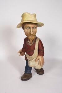 Seed-Sower ( Van Gogh A La Millet )