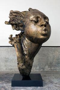 """Head of Woman, """"Blower II"""""""