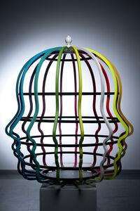 Jail of Rainbow Heads