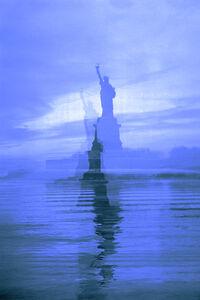 Blue Lady Liberty