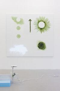 Flower and sun (cloud)