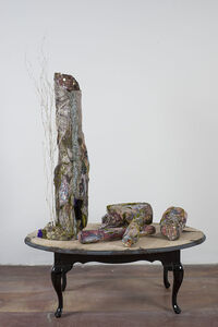 Untitled, Tree and Logs