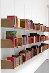 The Library of Unborrowed Books, Section I: Stockholm Public Library (detail)