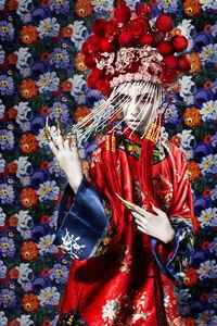 Female Dancing in Traditional Chinese Opera Costum