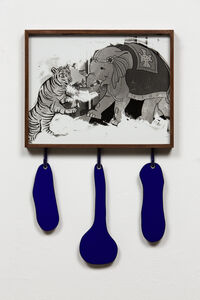 Untitled (Tiger, Elephant)