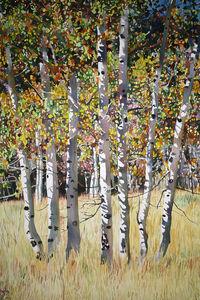 Fall Aspen Grove (North of Ketchum)
