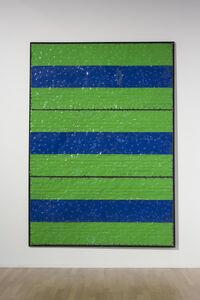 Extrait (tôle,choc) Les dadas des deux Daniel, Vert/Bleu