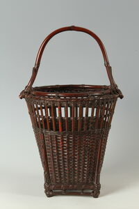 Arrows Bamboo Basket