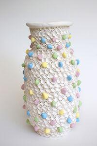 Pastel Stone Vase