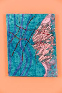 Red Grid Blue Velvet