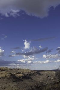 Clouds and Canyon, Davis Mountains, North of Ft. Davis