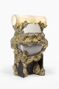 Bronzed Enamel Totem Light