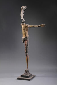 Rooted Man with Outstretched Arm, 1/4