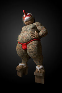 <Otokogi (Chivalry)> Tengu (Long‐nosed goblin mask・・・)