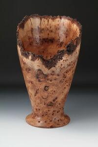 Elm Burl Vase