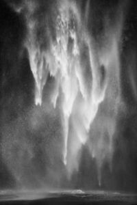 Light Cascade: At the Plunge Pool, 11 2247, Columbia River Gorge, Oregon