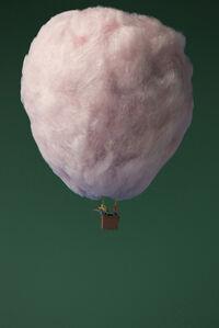 Cotton Candy Hot Air Balloon