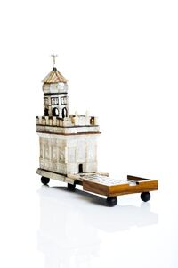 Model of the Aedicule of the Holy Sepulchre