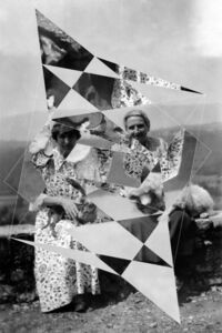 Constellations (Alice B. Toklas and Gertrude Stein with Pepe and Basket)