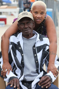 Daddyo, the oldest inmate in Angola Prison, 75 years old