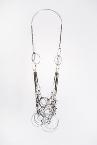 Tangled Circles Necklace #9