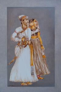 Sawant Singh with Bani Thani