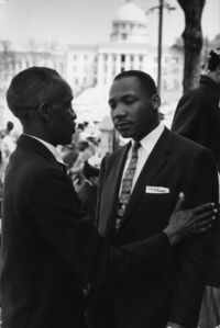 Reverend Martin Luther King, Jr., Montgomery, Alabama
