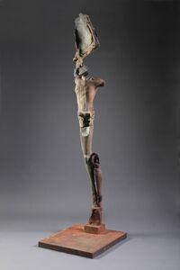 Single Winged Figure on Plinth, 4/4