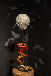 Track lighting sculpture