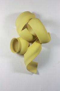 Yellow Wall Sculpture