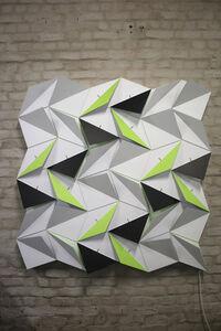 Origami Snubsquare (18 Rhombi X 18 Squares)