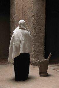 Untitled (figure/pillar)