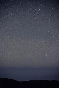 Paranal ESO, sky and ocean