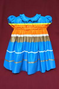 Blue Striped 50's Baby Dress