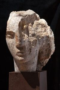 Quartzite Head of a Woman I